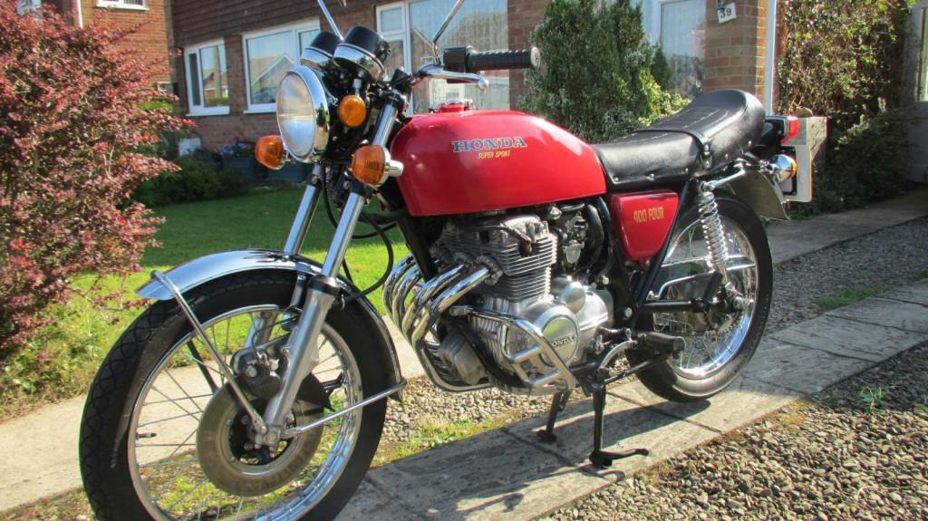 Honda cb400 4 1976 restored classic motorcycles at for Honda cb400 for sale