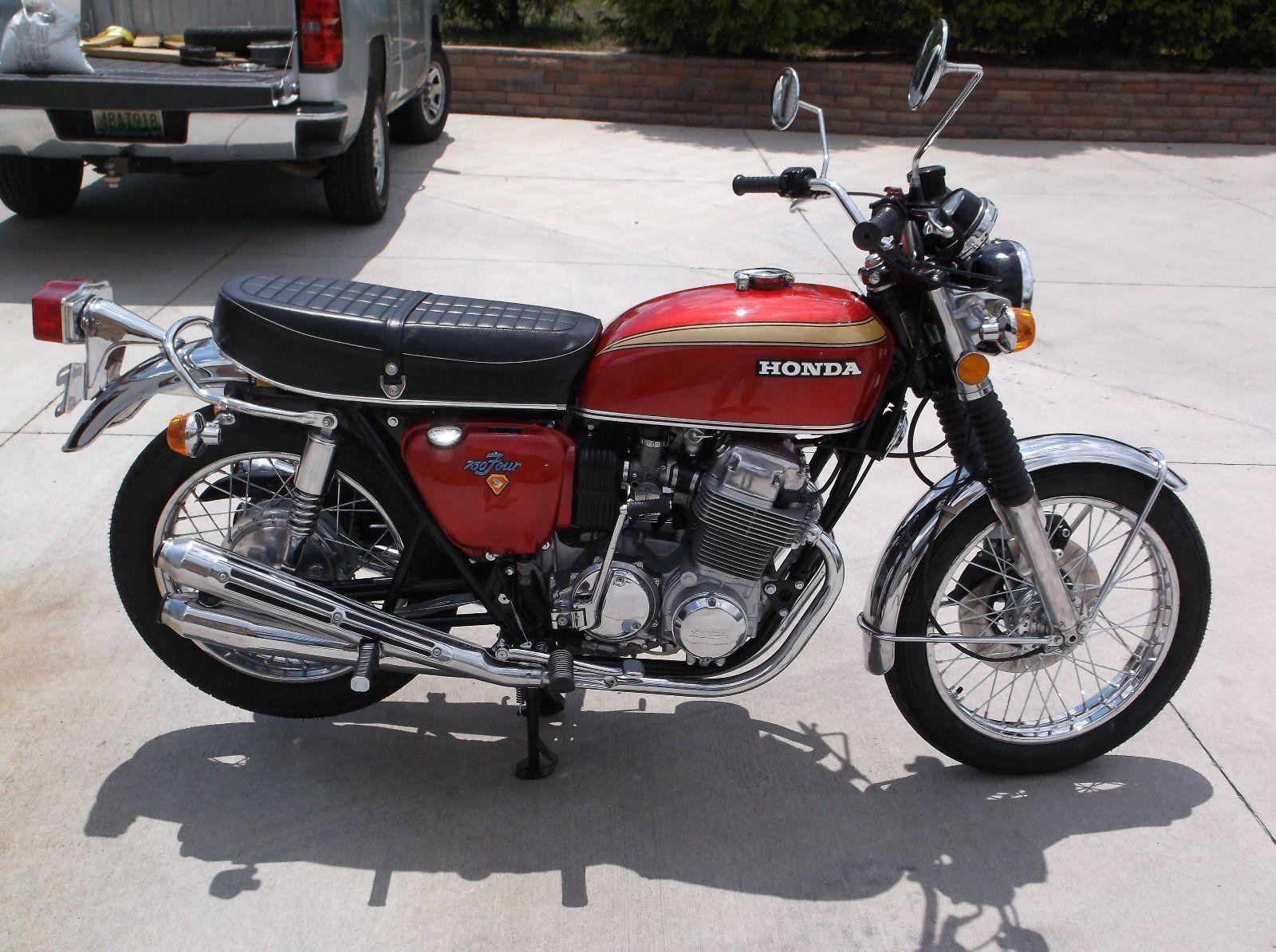 Honda CB750 SOHC - 1974 .