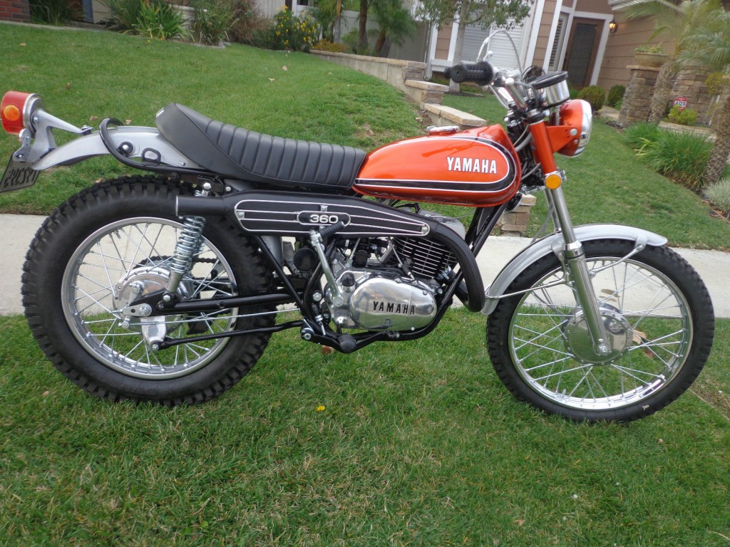 Restored Yamaha Rt3 360 Enduro 1973 Photographs At