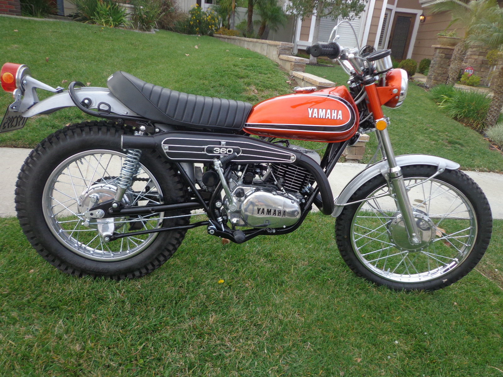 restored yamaha rt3 360 enduro 1973 photographs at classic bikes restored bikes restored. Black Bedroom Furniture Sets. Home Design Ideas