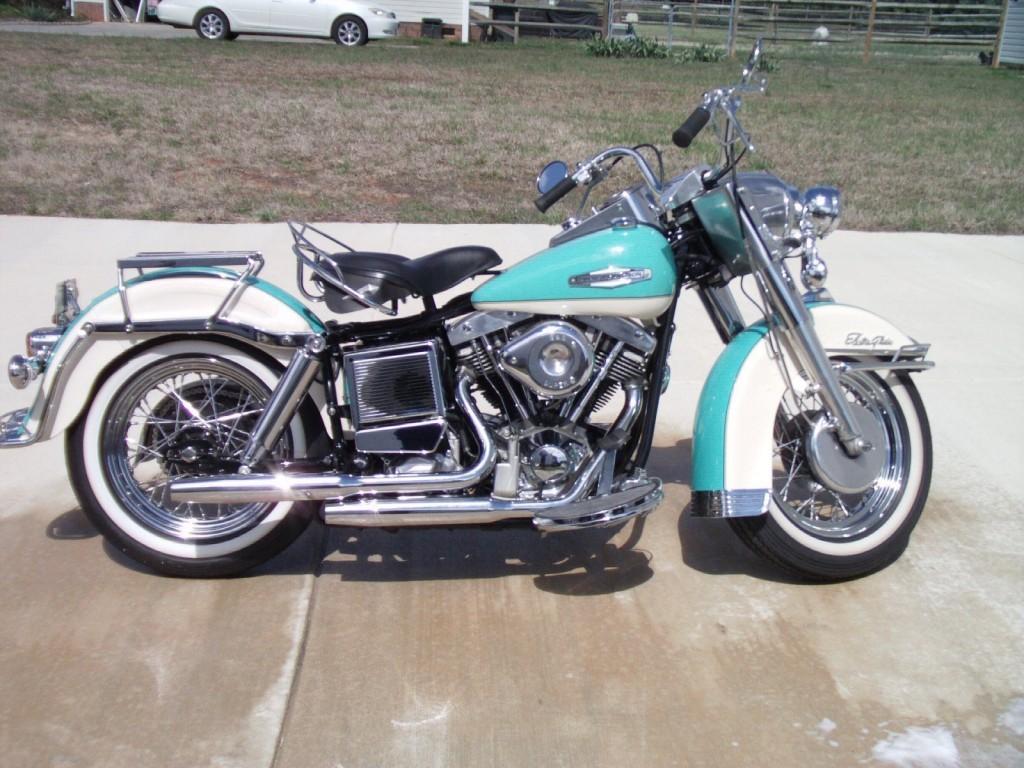 Restored Harley Davidson 1970 Photographs At Classic