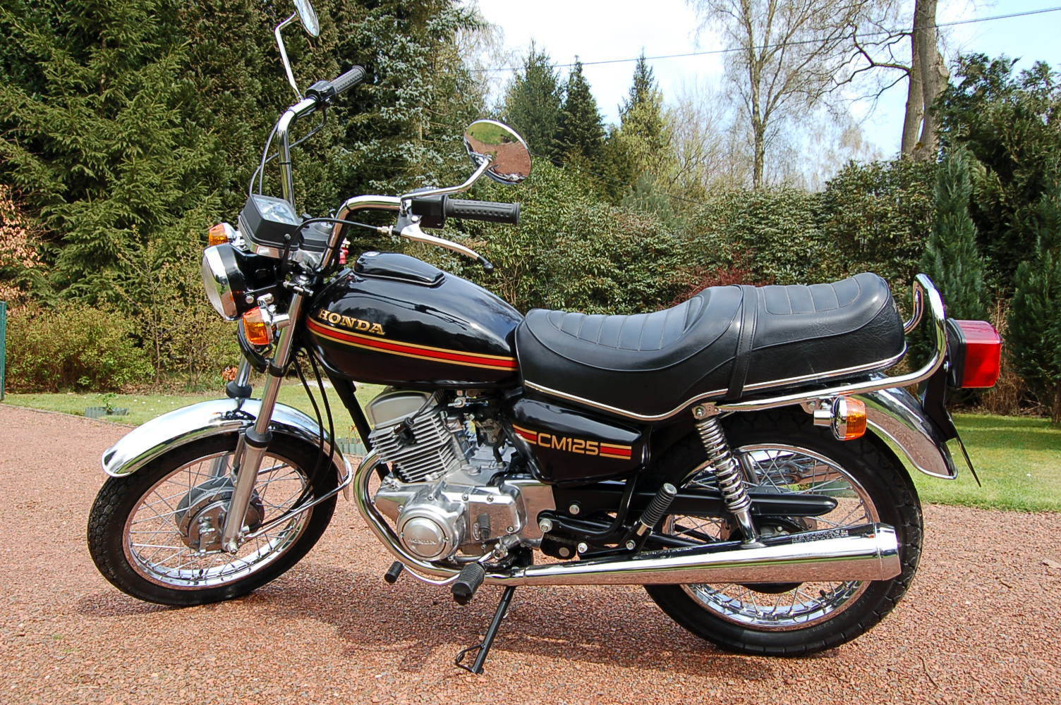 Honda CM125T - 1981 .