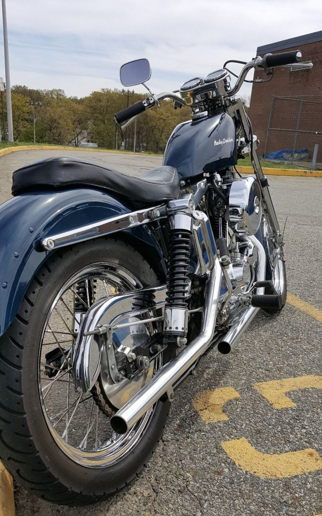 Restored Harley Davidson Sportster 1972 Photographs Classic Pictures