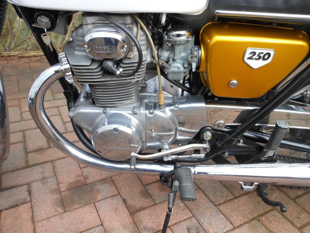 Restored Honda Classic Motorcycles At Bikes 1970 Ct70 Paint Colors Cb250 1968