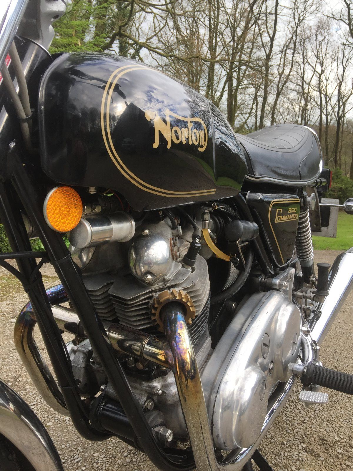 Norton Commando 850 - 1973