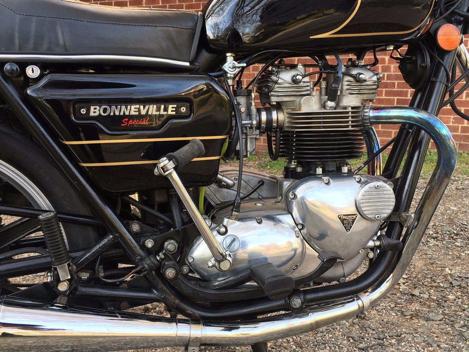 Triumph Bonneville Special - 1979