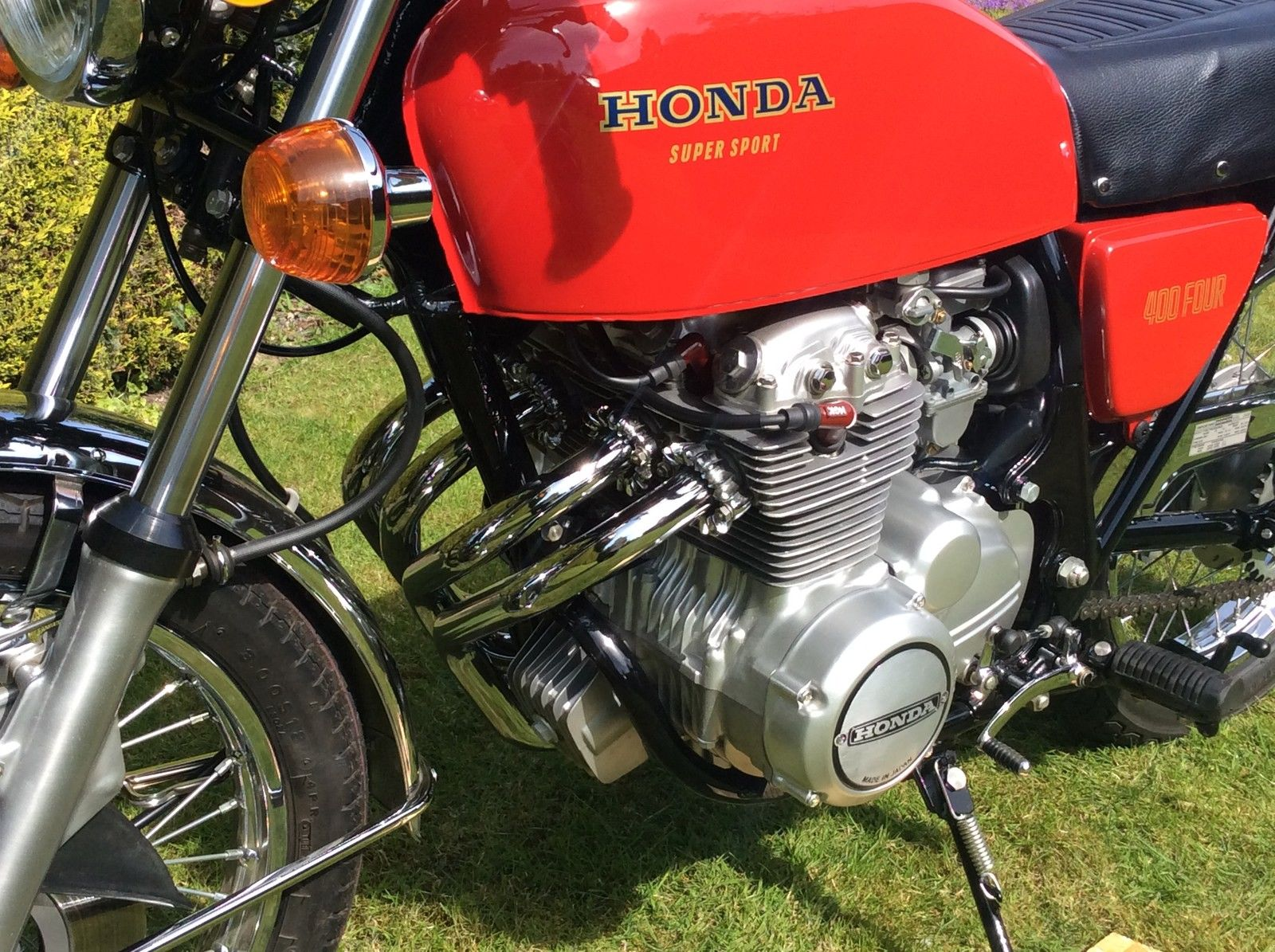 ... Array - restored honda cb400 four 1975 photographs at classic bikes rh  bikesrestored com