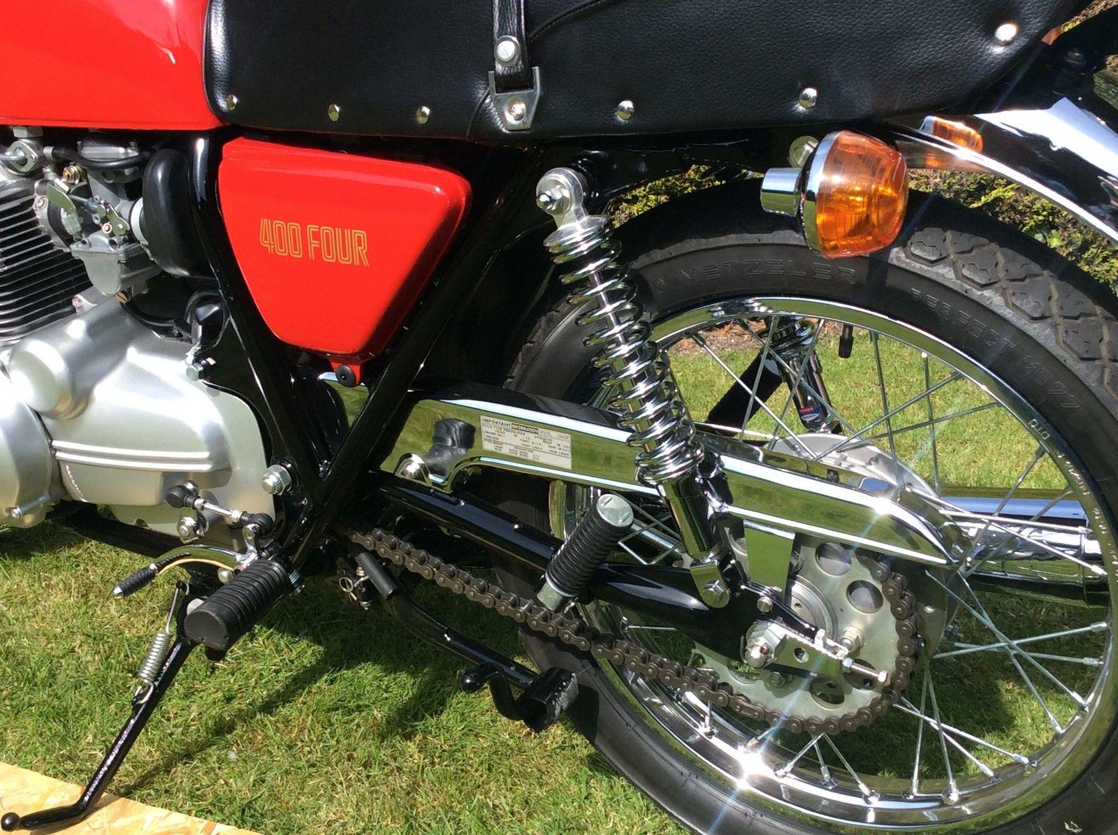 honda cb400 super four Array - restored honda cb400 four 1975 photographs  at classic bikes rh bikesrestored com