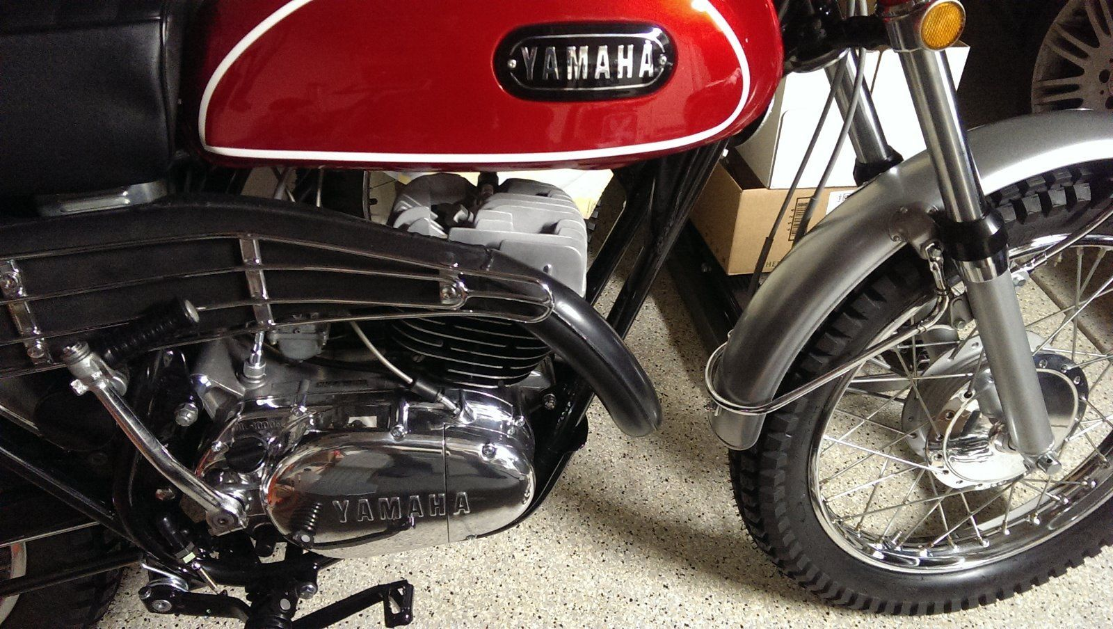 Yamaha DT1-C - 1970