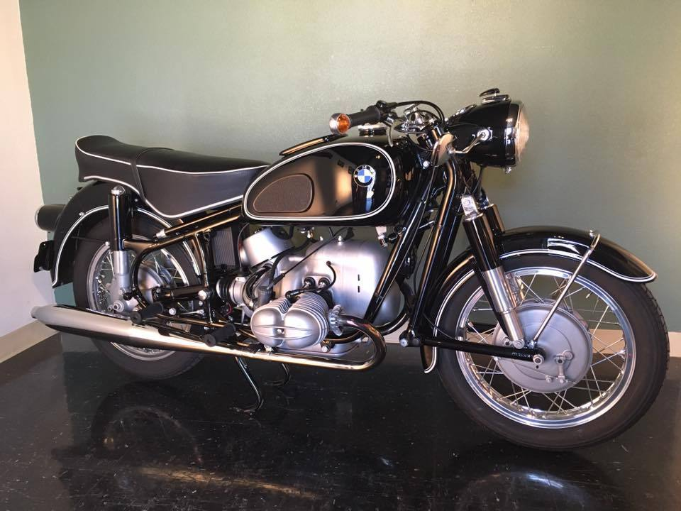 Norton Motorcycles Usa >> BMW R69S - 1963 - Restored Classic Motorcycles at Bikes Restored |Bikes Restored