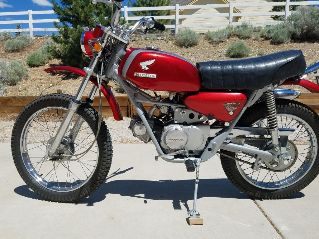 Restored Classic Motorcycles From 1969 At Bikes 1970 Honda Ct70 Paint Colors Sl90