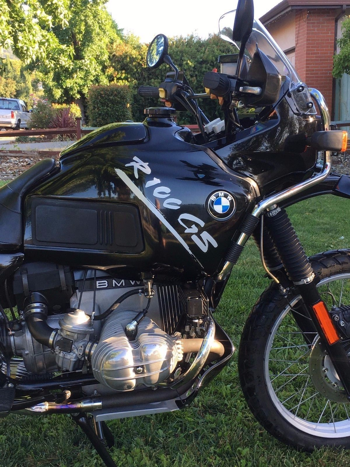 Restored Bmw R100gs 1995 Photographs At Classic Bikes