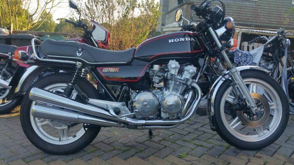 Restored    Honda    CB750KZ  1979 Photographs at Classic Bikes Restored  Bikes Restored