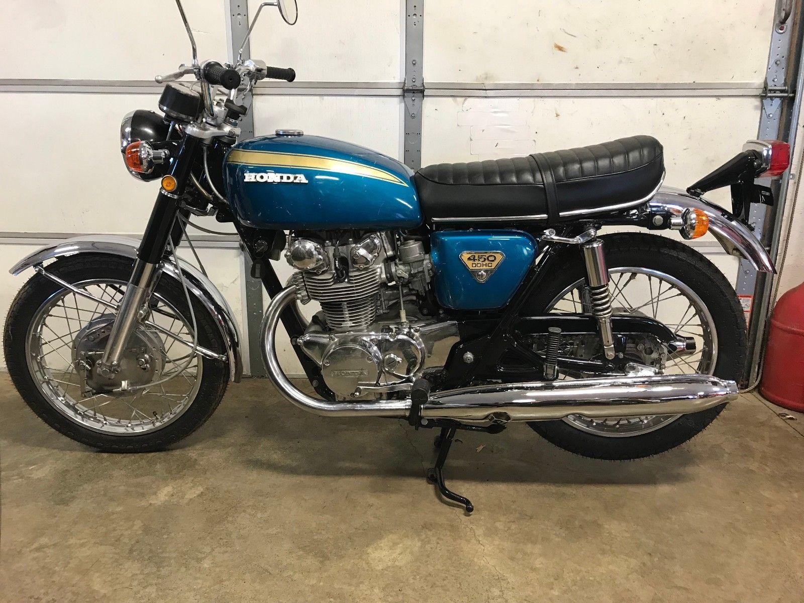 Honda CB450 - 1969