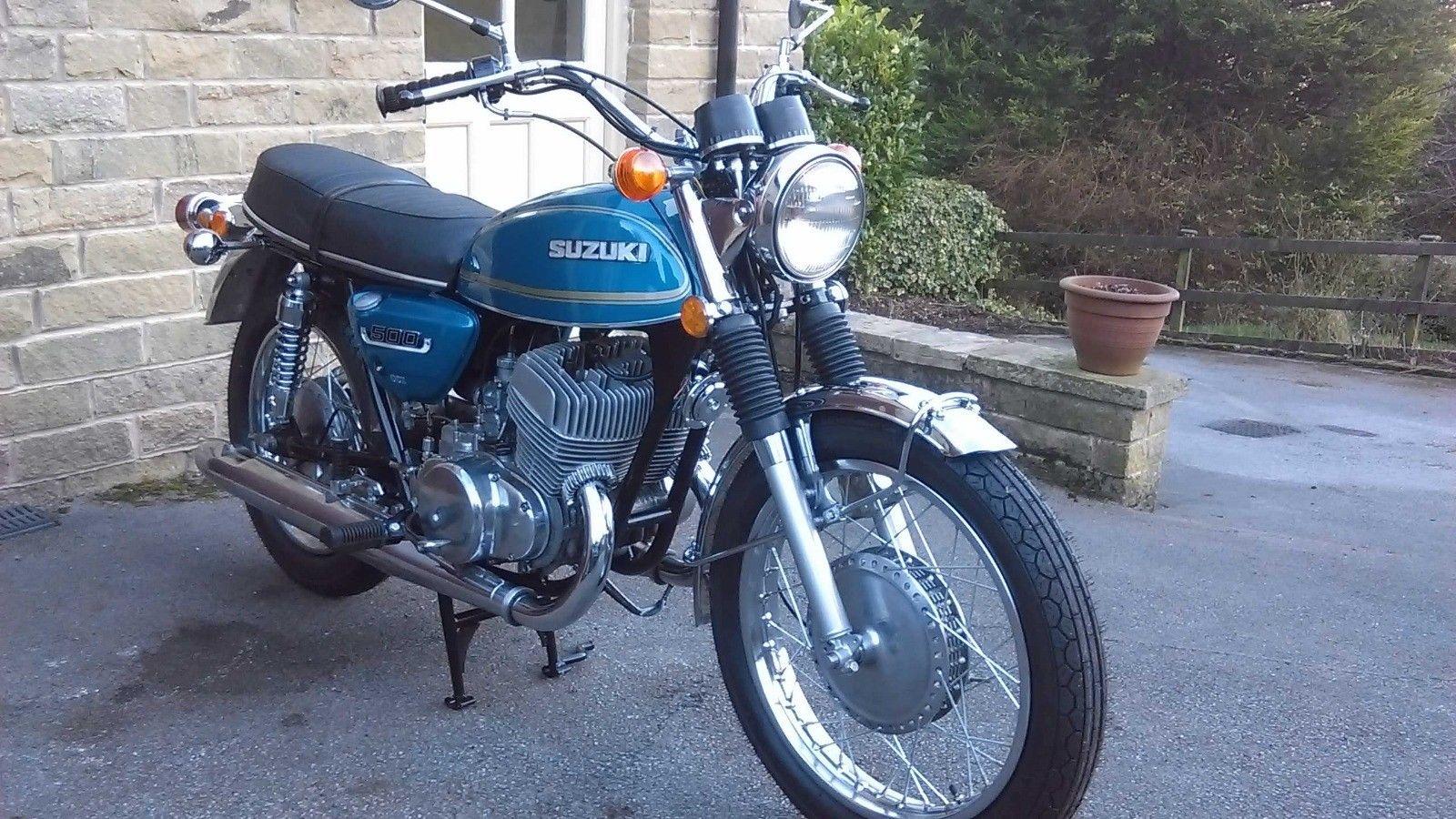 Suzuki T500M - 1975