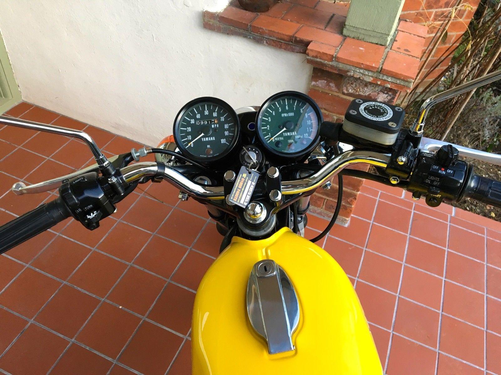 Yamaha RD200DX - 1976
