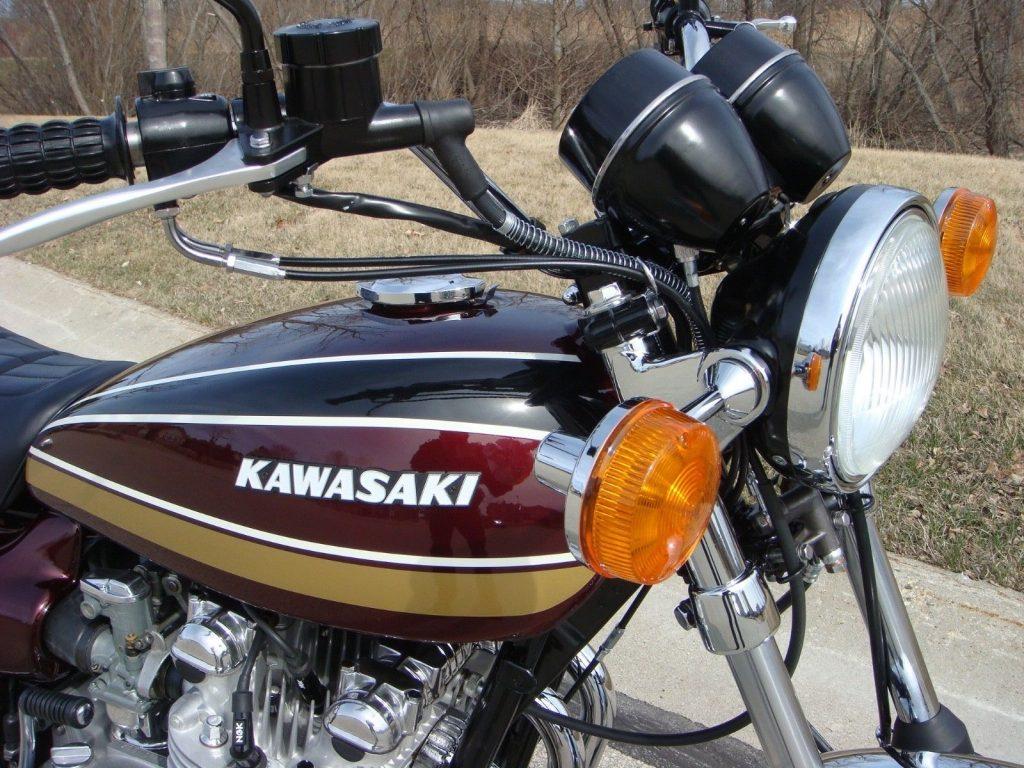 Kawasaki Z900 - 1975 - Restored Classic Motorcycles at Bikes Restored  |Bikes Restored