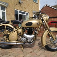 BSA A10 Gold Flash – 1953