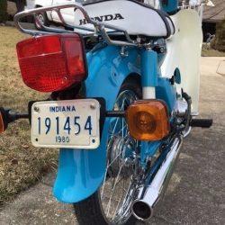 Honda C70 – 1980