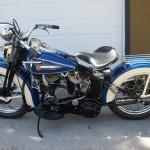 Harley-Davidson 45WLA – 1942