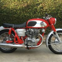 Honda CB450 Red Dragon – 1966
