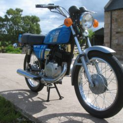 Restored Kawasaki Kh250 1976 Photographs At Classic