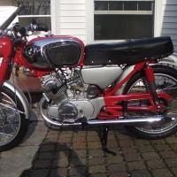 Honda CB160 – 1968