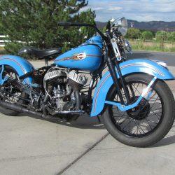 Harley Davidson WL45 Flathead – 1938