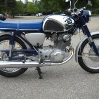 Honda CB77 Superhawk – 1966