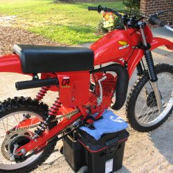 Honda CR125R Red Rocket – 1979