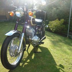 Honda CD200 Benly – 1981